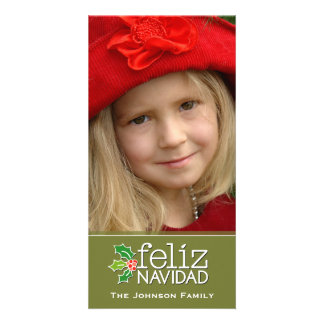 Feliz Navidad: One Large Photo Photo Cards