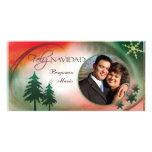 Feliz Navidad Photo Card Template