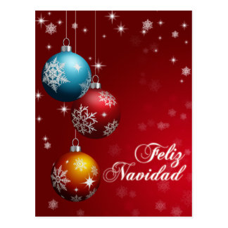 Feliz Navidad Postcard
