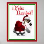 Feliz Navidad - Silly Santa Goose