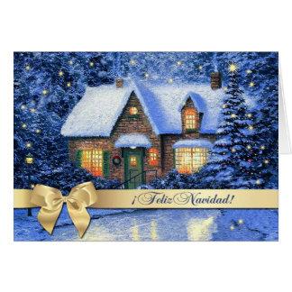 Feliz Navidad.Spanish Christmas Greeting Cards