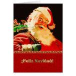 Feliz Navidad. Spanish Customisable Christmas Card