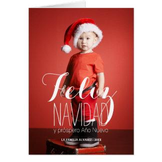 Feliz Navidad | Spanish Holiday Greeting Card