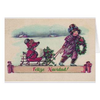 Felize Navidad Christmas Card