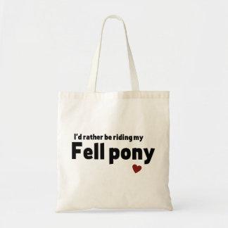 Fell pony budget tote bag