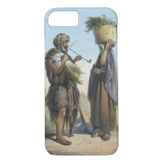 Fellah Man and Woman, illustration from 'The Valle iPhone 8/7 Case
