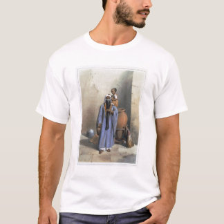 Fellah Woman and Child, illustration from 'The Val T-Shirt