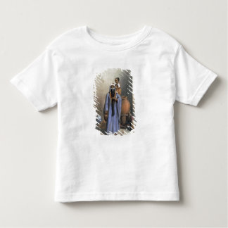 Fellah Woman and Child, illustration from 'The Val Tshirt