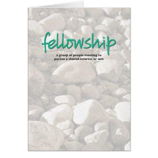 Fellowship Definition Inspiration Card