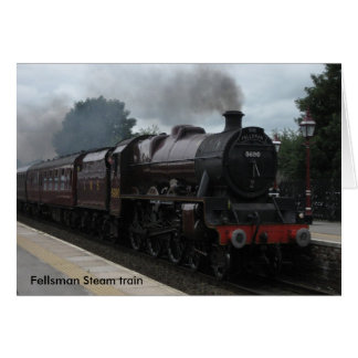 Fellsman Steam train Card