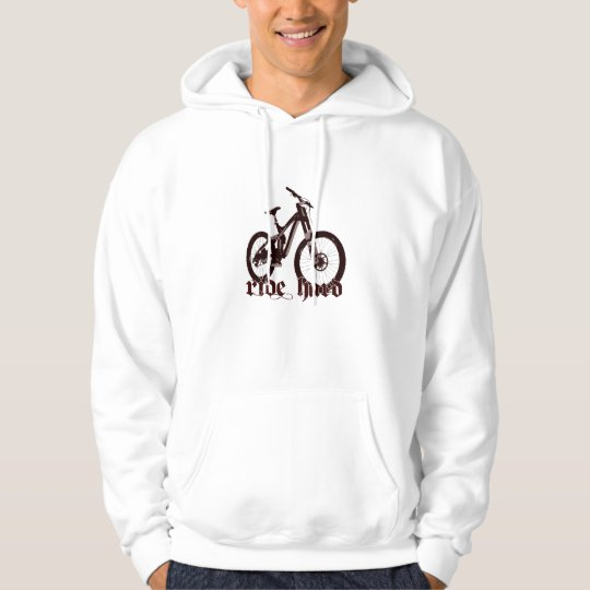 felpa cappuccio bike 1 hoodie