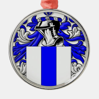 Felsman Coat of Arms Silver-Colored Round Decoration