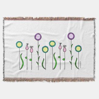 Felt flower discount/Flowerbed Blanket
