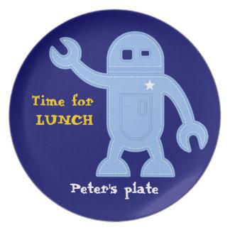 Felt Robot Plate