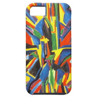 Felt Tip Abstract Babylon I-Phone Case