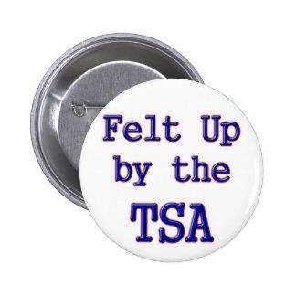 Felt Up by the TSA Pin
