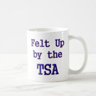 Felt Up by the TSA Basic White Mug