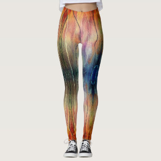 Felted Fire and Ice Leggings