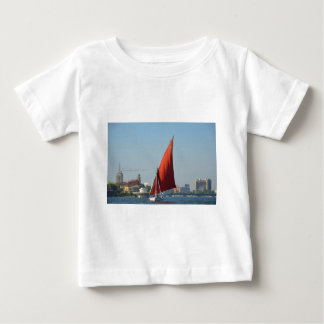 Felucca With Red Sail Baby T-Shirt