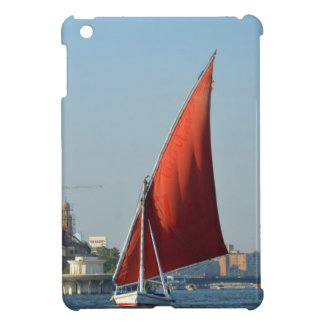 Felucca With Red Sail Case For The iPad Mini