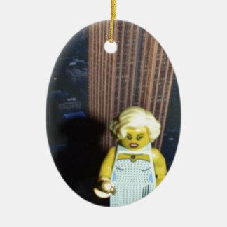 fem fatal christmas ornament