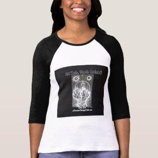 Fem- Zen b/w raglan T Shirt