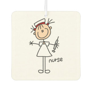 Femal Stick Figure Nurse Air Freshner Car Air Freshener