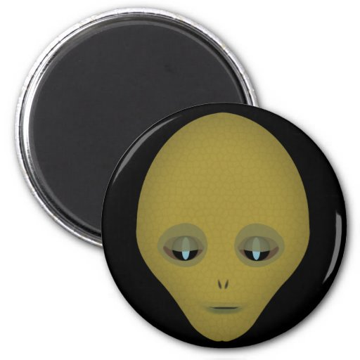 Female Aliens Magnet