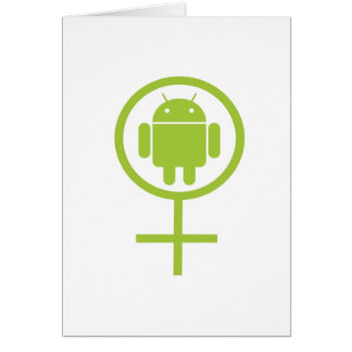 Female Android (Sign / Symbol) Card