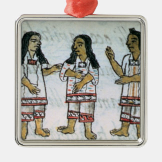 Female Aztec costumes Christmas Ornament