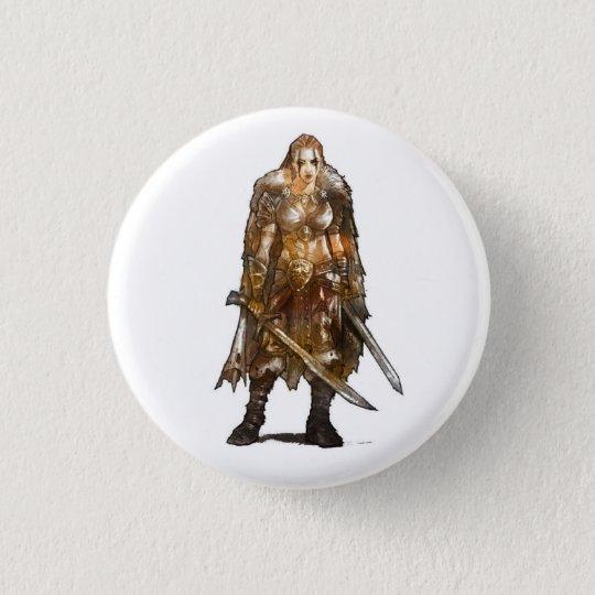 Female Barbarian Button