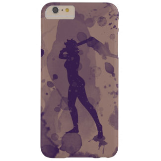 Female Baseball Batter iPhone 6 Plus Case