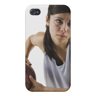 Female basketball player cases for iPhone 4