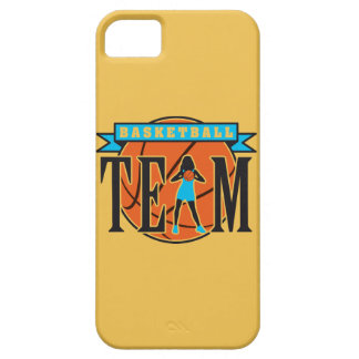 female basketball player team case for the iPhone 5