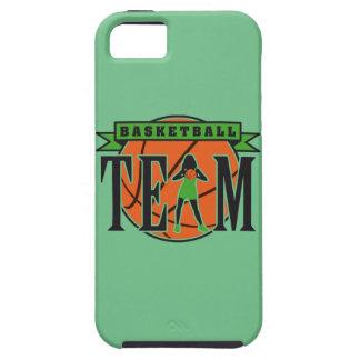female basketball player team tough iPhone 5 case