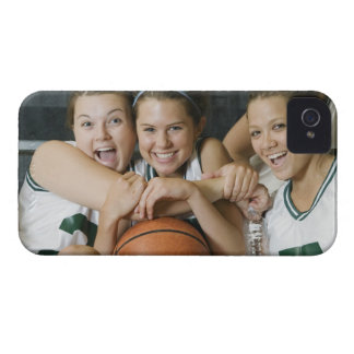 Female basketball team smiling, portrait Case-Mate iPhone 4 case