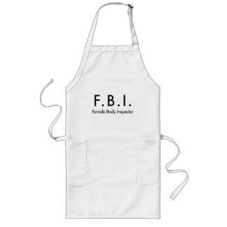 Female Body Inspector Aprons