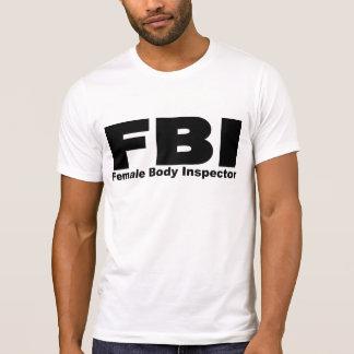 Female Body Inspector Shirts