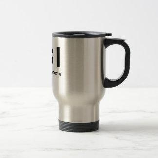 Female Body Inspector Stainless Steel Travel Mug