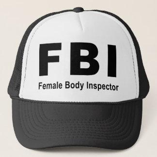 Female Body Inspector Trucker Hat