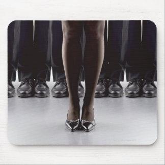 Female boss for businessmen mouse mat