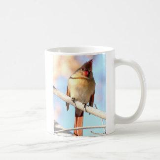 Female Cardinal looking at you Coffee Mug