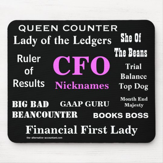 Female CFO Nicknames Funny Rude Silly Names Mouse
