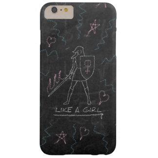 Female Chalk Knight iPhone 6 Plus Case