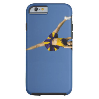 Female cheerleader doing cartwheel tough iPhone 6 case