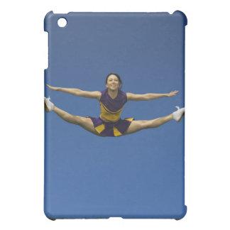 Female cheerleader jumping in air 3 iPad mini cover