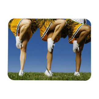 Female cheerleader's legs (low section) flexible magnets