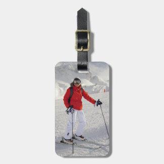Female Cold Image Luggage Tag