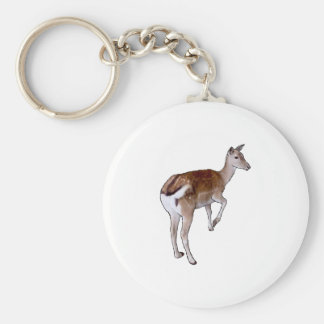 Female Deer. Key Ring