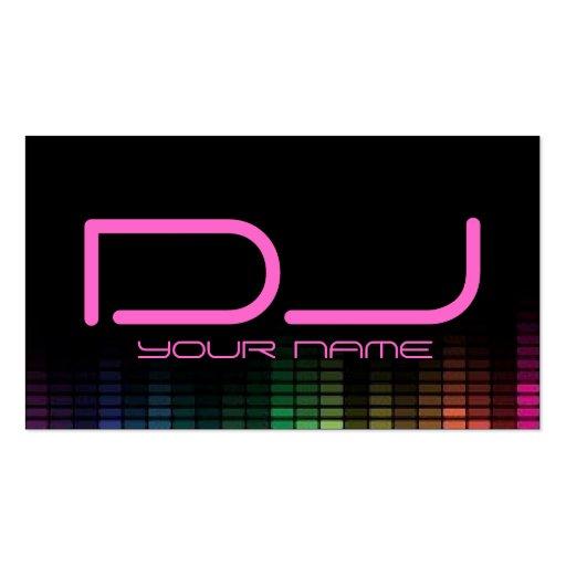 premium dj business card templates page3. Black Bedroom Furniture Sets. Home Design Ideas
